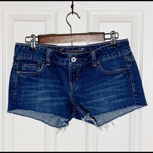 American Eagle Denim Shorts Size 4